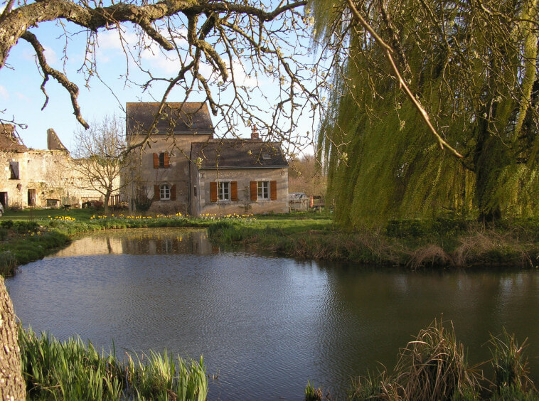Historic watermill house for sale